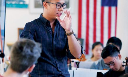 Meet Adrian Anantawan, Milton's New Music Department Chair
