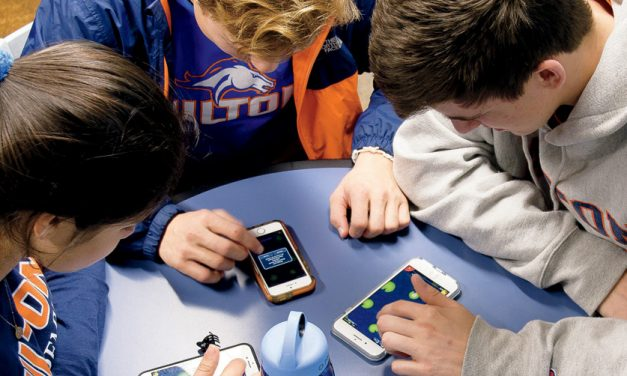 They See, Snap and Share: Students on Their Devices