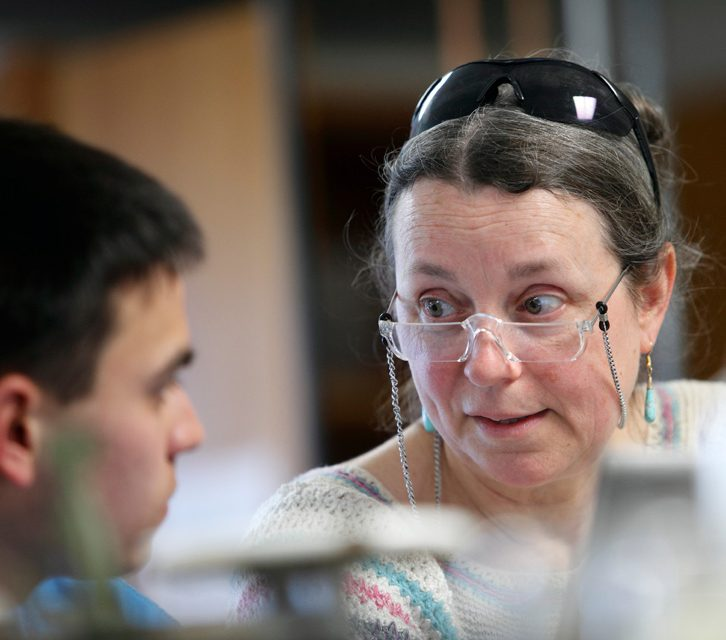 Linde Eyster  <br> Science Department, Member of the Faculty, 1990–2018