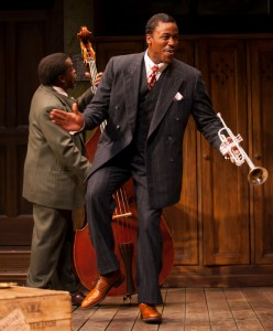 Glenn Turner and Jason Bowen in August Wilson's Ma Rainey's Black Bottom (2012)