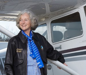 "Mary McCutcheon is a pilot whose passion for flying began at Milton. She and her brother ""snuck away"" from campus and made their way via MTA to Hanscom Field for flying lessons. She got her license in 1996 and a plane of her own in 2000. Mary is a cultural anthropologist who has specialized in the Palau Islands in Micronesia. In addition to research and writing, she has worked at the Smithsonian and as a faculty member at George Mason University."