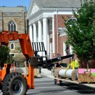 Restoration of the Robert Saltonstall Gymnasium Columns