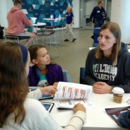 Milton Mentors Lead Girls Who Code Teams at HUBweek Hackathon