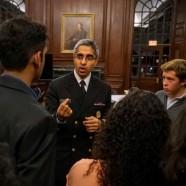 Surgeon General Dr. Vivek Murthy Delivers 49th Alumni War Memorial Lecture