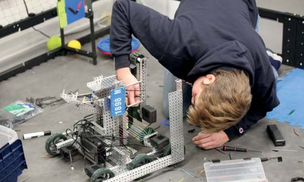 Robots Qualify for National Competition