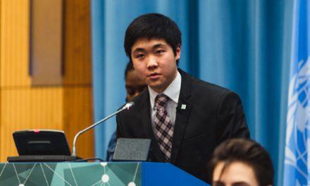 Alex Wang Serves as UN Youth Delegate