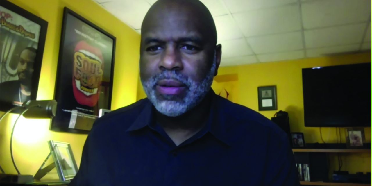 Documentary Filmmaker Byron Hurt Speaks to Milton Athletes